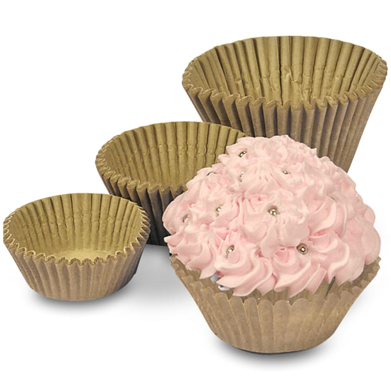Unbleached Cupcake Baking Cups