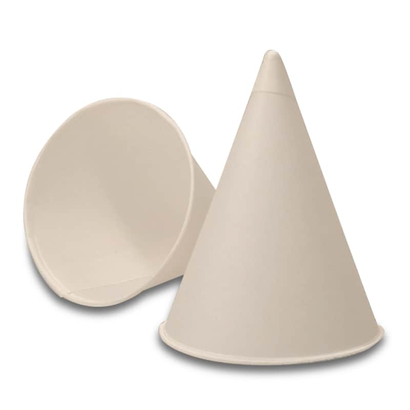 Cone-Shaped Paper Cups