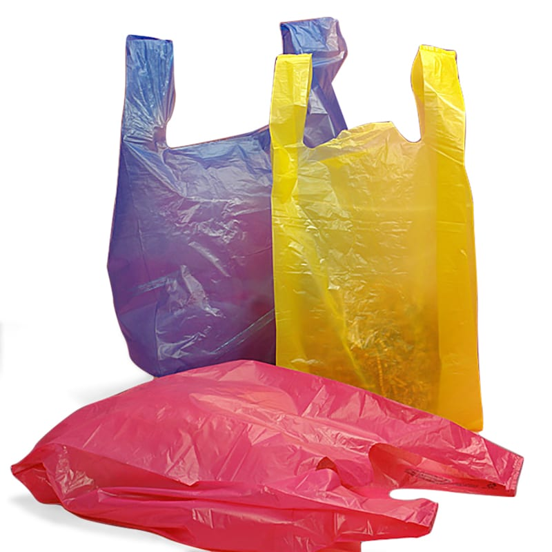 colored t shirt bags shop with paper mart today