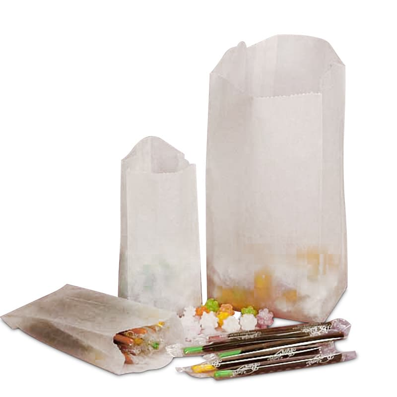Square Glassine Bags