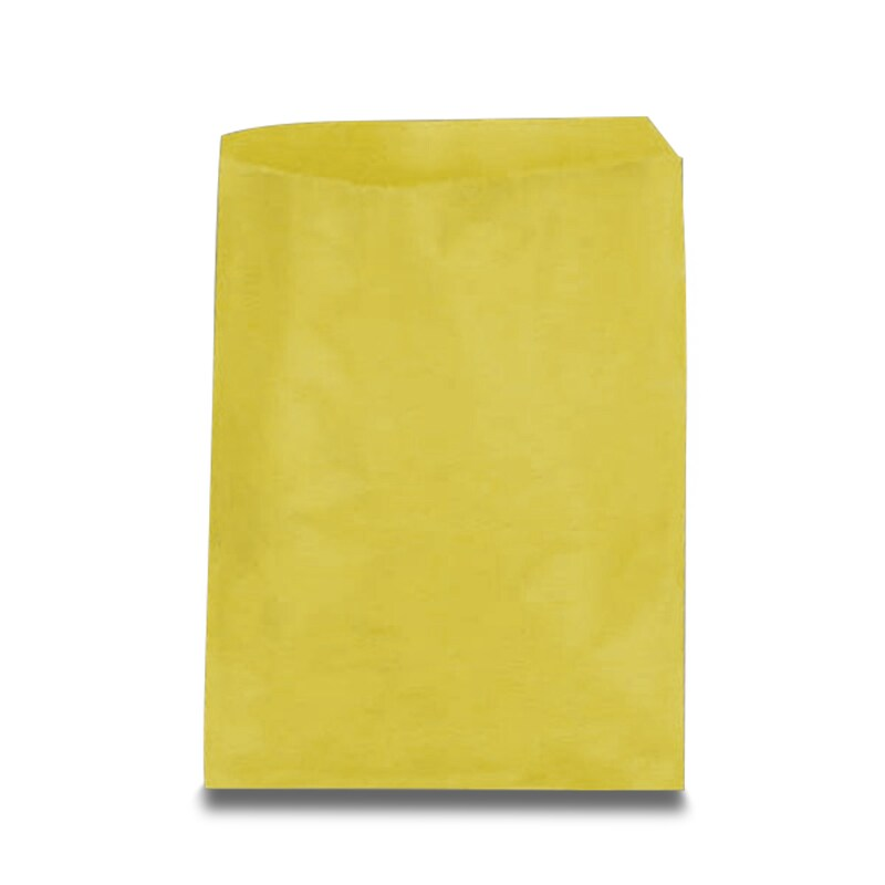 #12 Yellow Paper Merch Bags - Pkg - 12 X 15 - Quantity: 100 - Paper Merchandise Bags - Baseweight: 30 by Paper Mart