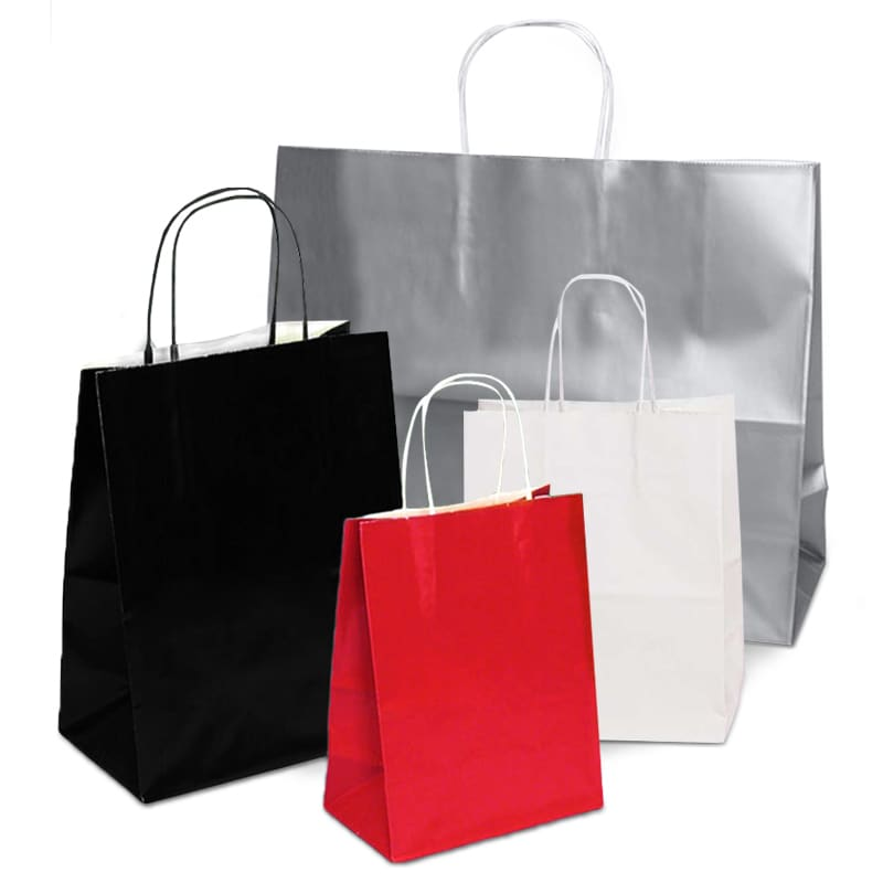 Glossy Shopping Bags