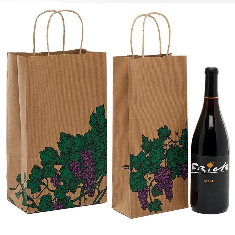 2541d36af7 Paper Wine Handle Bags