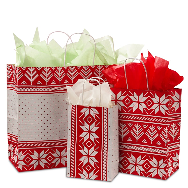 Alpine Sweater Shopping Bags