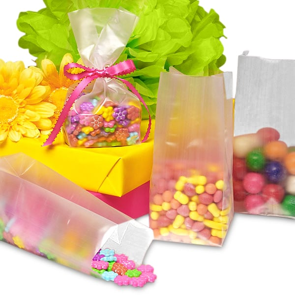 Small Frosted Plastic SOS Bags