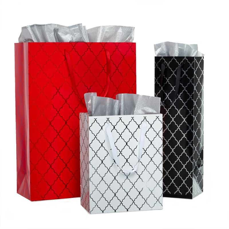 Diamond Grid Euro Totes