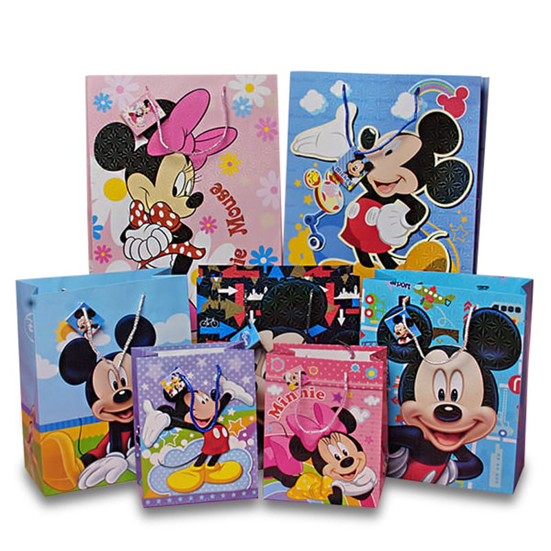 Paper Character Bags