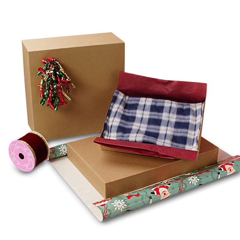 Recycled Kraft Apparel Boxes