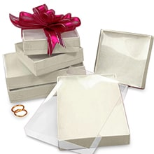 Cardboard Gift Boxes With Lids Clear Top Boxes Paper Mart