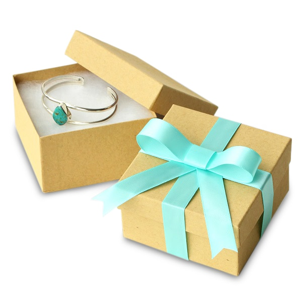 Natural Kraft Jewelry Boxes