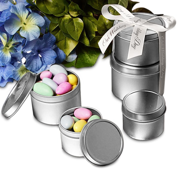 Deep Round Tin Cans