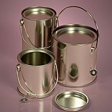 Metal Container With Handle