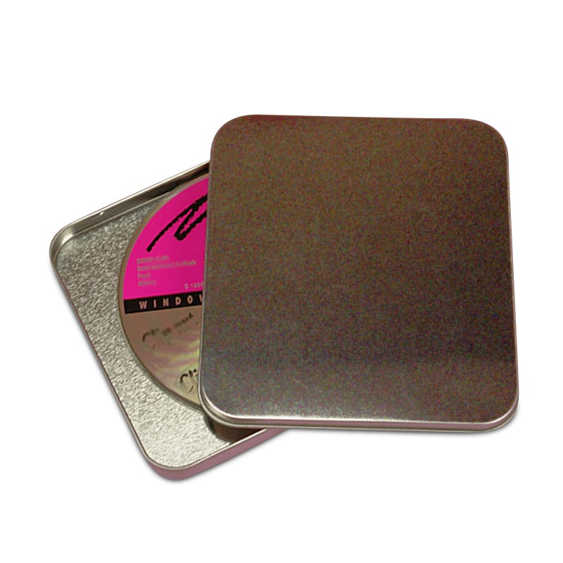 Cd/Dvd Holder Tin Cans