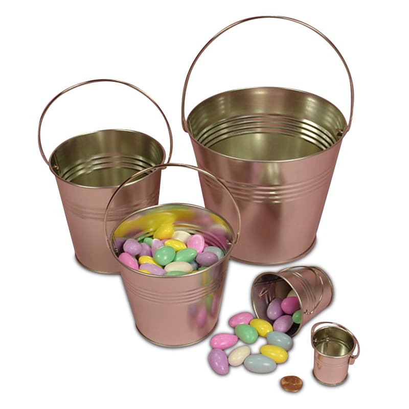 Mini Steel Pails With Handle From Paper Mart