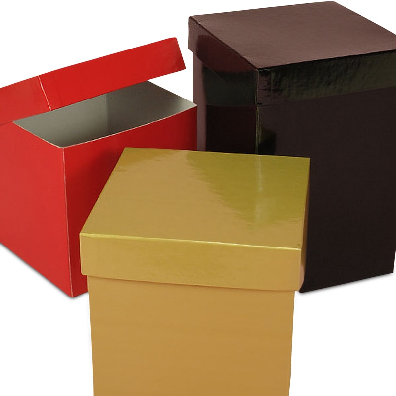 Colored Premium Two Piece Gift Boxes