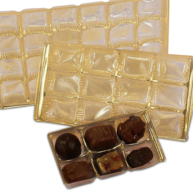 Gold Candy Trays