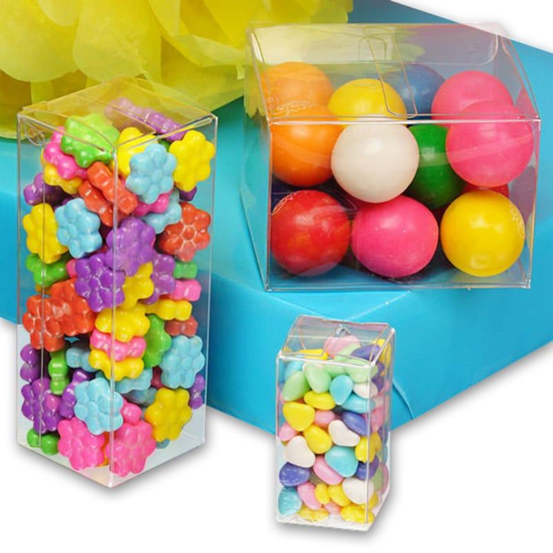 Clear PVC Plastic Boxes - Lock Tab Bottom 0138884a26e32