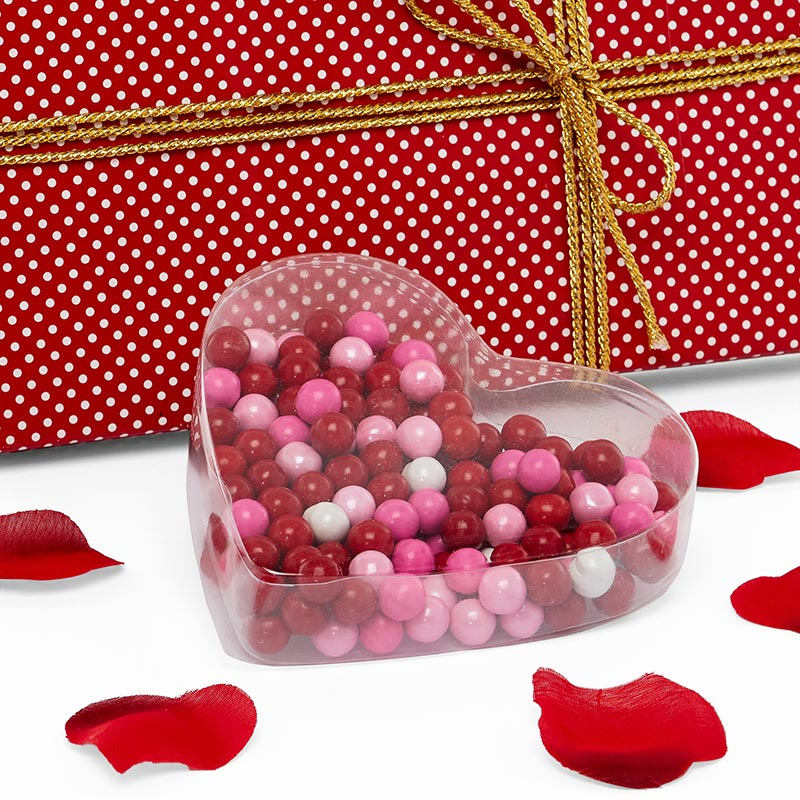 Heart Shaped Plastic Boxes