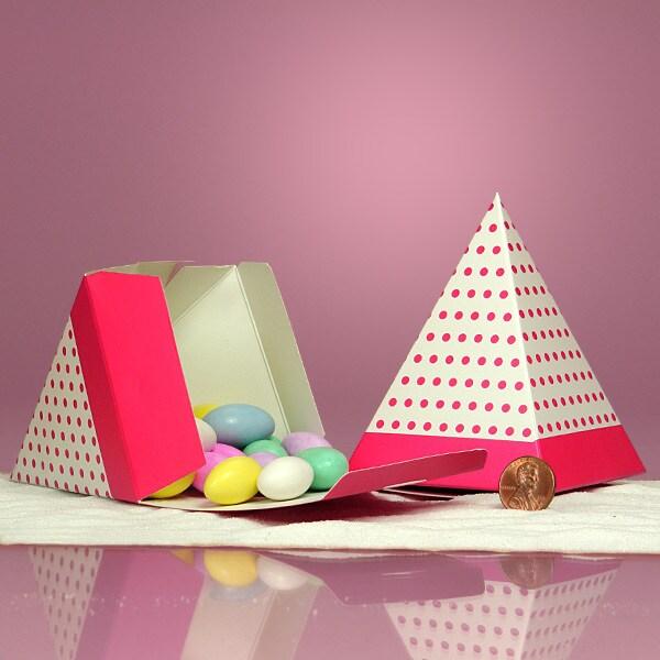 Pyramid Candy Box
