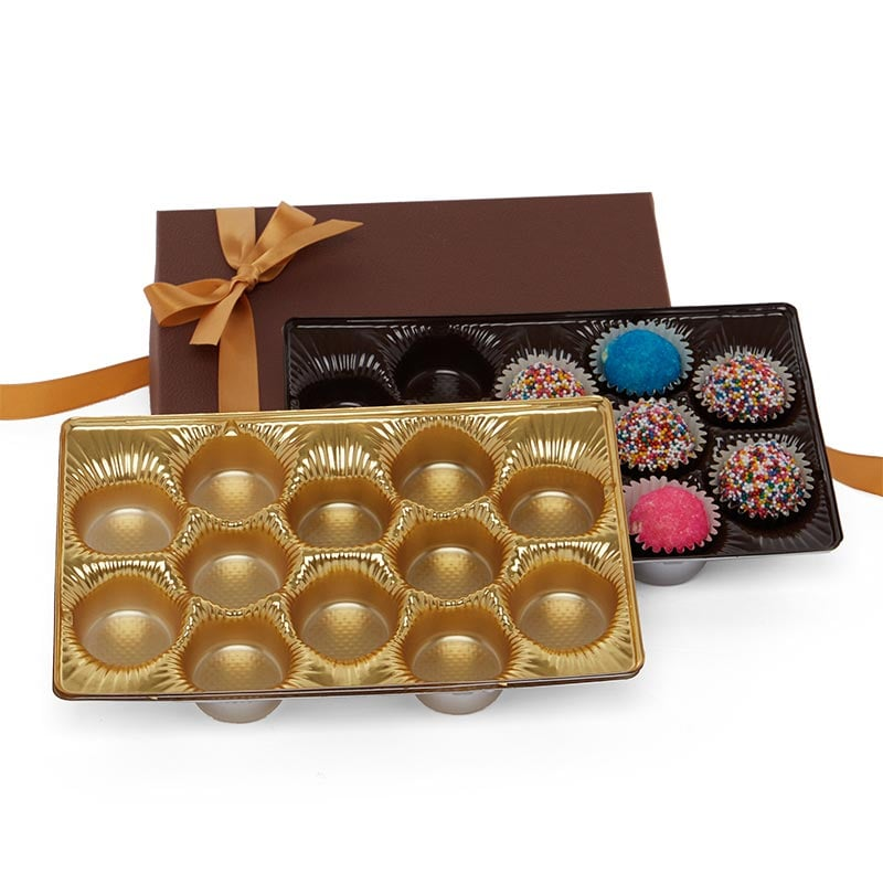 Round Cavity Truffle Trays