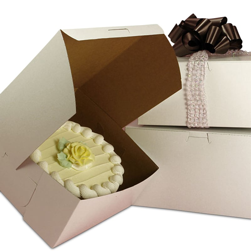 Standard White Cake & Pastry Boxes