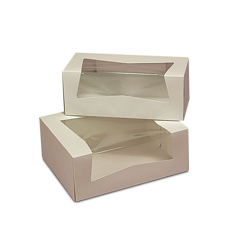 Pastry Box With Wrap Around Window