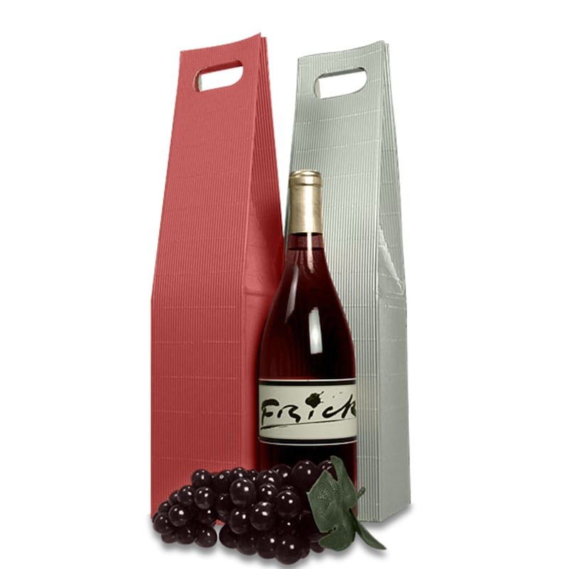 Pinstripe Wine Carry Boxes