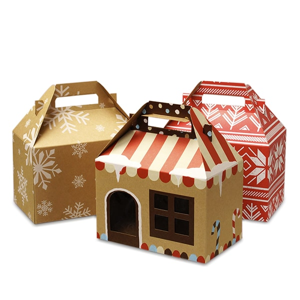 Patterns Gable Gift Boxes