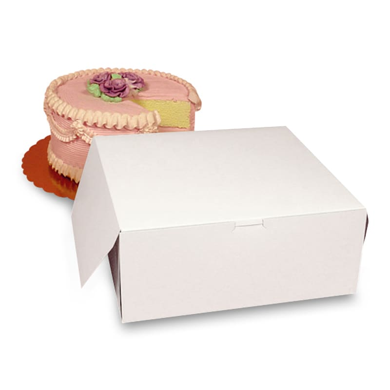 Premium White Automatic Cake Boxes