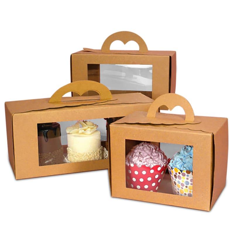 Plastic Cake Boxes Storage Amazon
