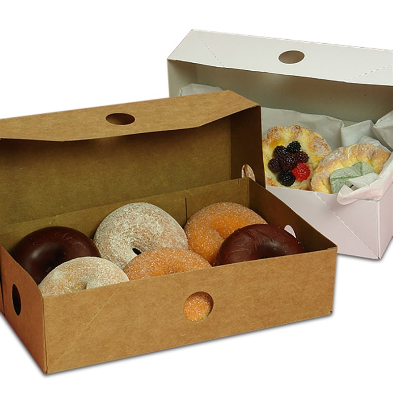 Two Piece Donut Boxes
