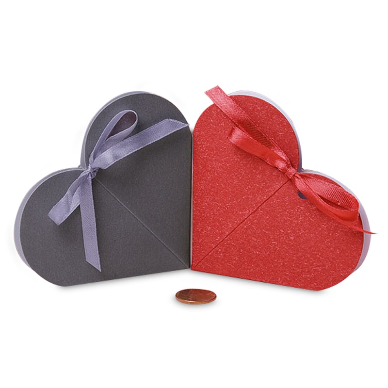 Heart Shape Favor Boxes