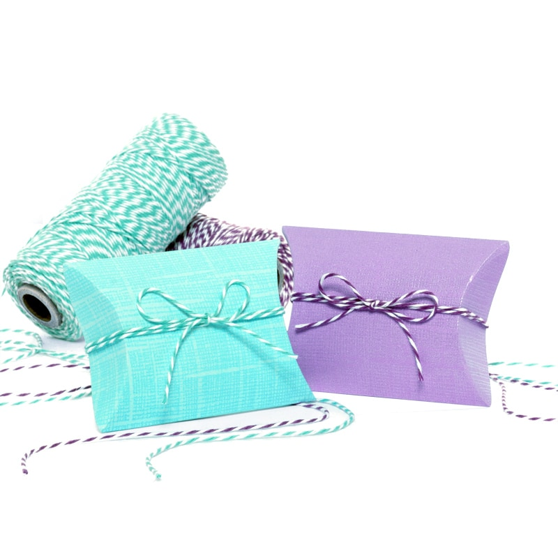 Canvas Embossed Pillow Boxes