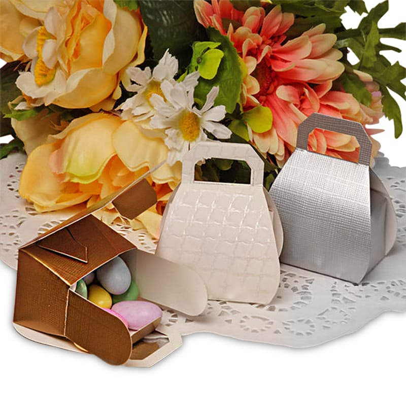 Purse Shaped Favor Boxes