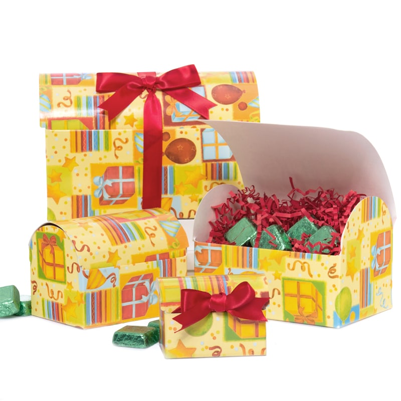 Party Print Chest Boxes