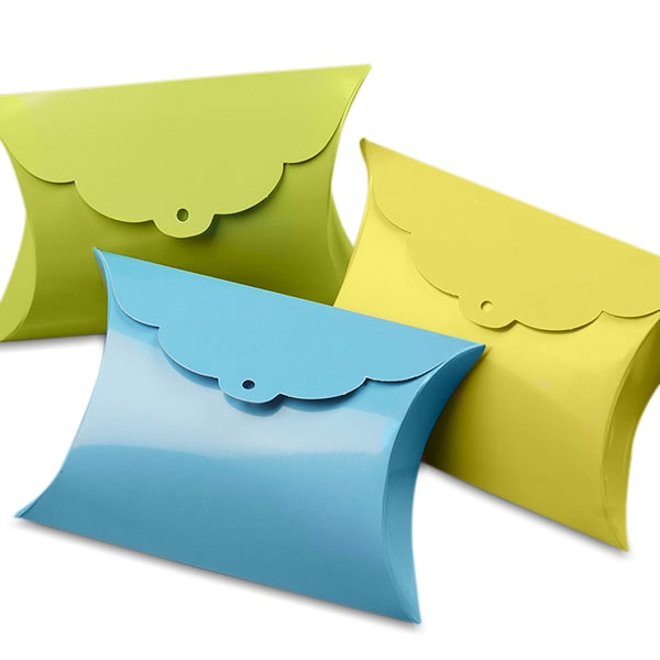 Tab Pillow Favor Boxes