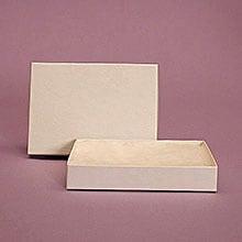 jewelry box white swirl small