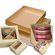 Gift boxes browse 5000 choices at paper mart favor boxes plastic boxes clear top cardboard boxes m4hsunfo