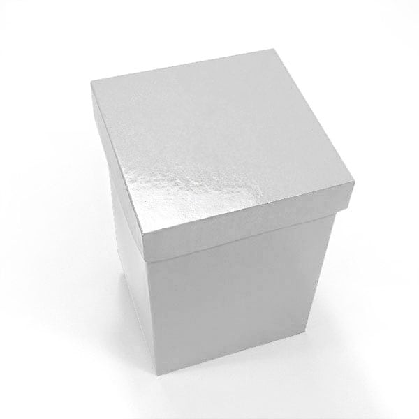 White premium gift boxes for Small cardboard jewelry boxes with lids