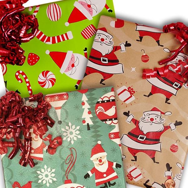 Santa Christmas Wrapping Paper