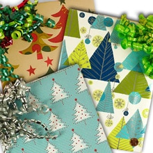 printed patterns paper shopping bags christmas gift wrapping paper
