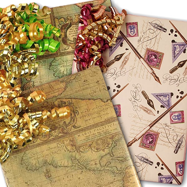 Antique Gift Wrap