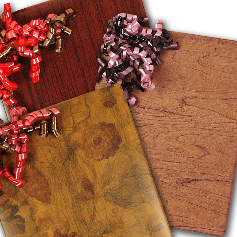 Wood Wrapping Paper