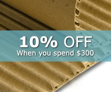 15% off Corrugated Rolls