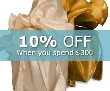 15% off Fabric Wraps