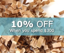 15% off Retail Shred