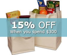20% off Reusable Bags
