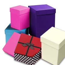 Christmas gift boxes assorted sizes