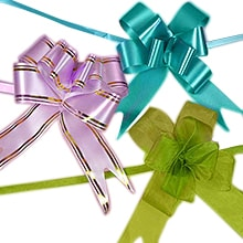 Bows gift bows fabric bows ribbon bows butterfly poly pull bows negle Gallery