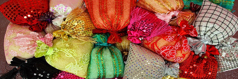 Exotic Fabric Bags